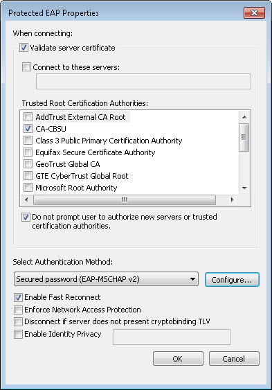 Windows 7 Manul Connection Details 5
