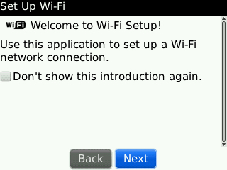 Welcome to Wi-Fi