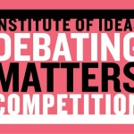 CBU judge for Debating Matters