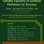 Gender Equality in Science – our latest workshop