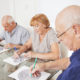 Mid-life activities protect old-age cognition against brain decline