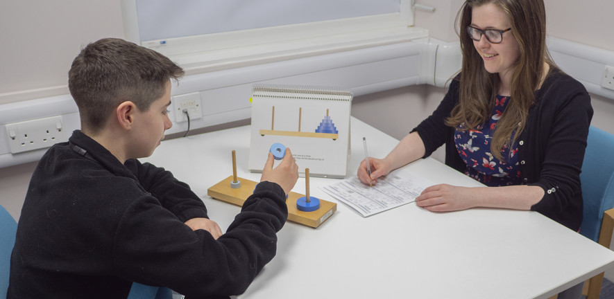 CALM takes a child-centred approach to developmental difficulties with learning